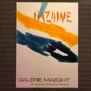 Bazaine Galerie Maeght Abstract Art Lithograph